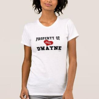 Eigentum von Dwayne T-Shirt