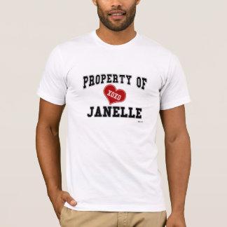 Eigentum von Janelle T-Shirt