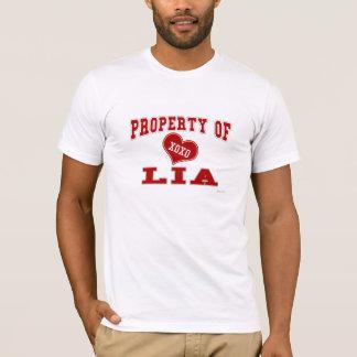 Eigentum von Lia T-Shirt