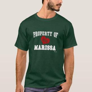 Eigentum von Marissa T-Shirt
