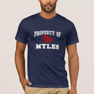 Eigentum von Myles T-Shirt