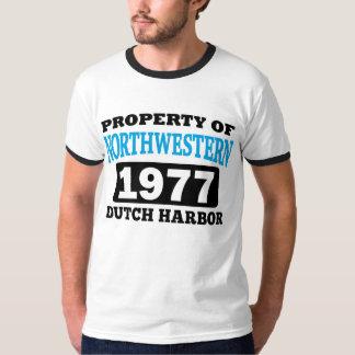 Eigentum von nordwestlichem (Licht) T-Shirt