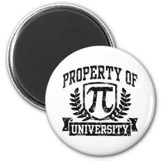 Eigentum von PU-Universität Runder Magnet 5,1 Cm