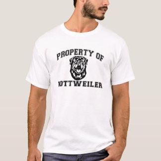 Eigentum von Rottweiler T-Shirt