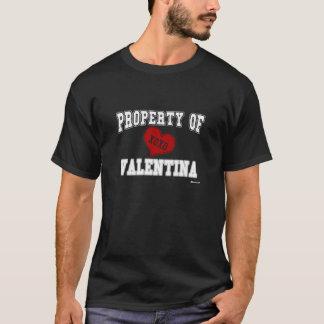 Eigentum von Valentina T-Shirt