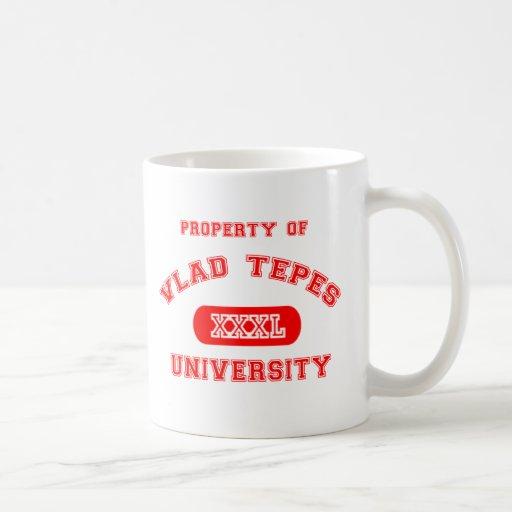 Eigentum von Vlad Tepes Kaffeetasse