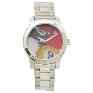 Eightball die traditionellen Farben, Armbanduhr