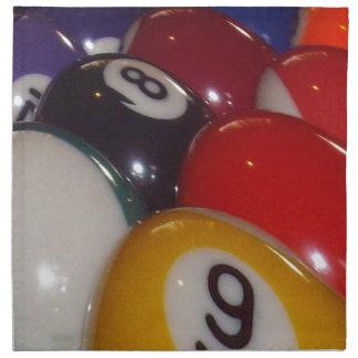 Eightball die traditionellen Farben, Serviette