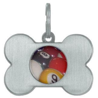 Eightball die traditionellen farbigen Bälle, Tiermarke