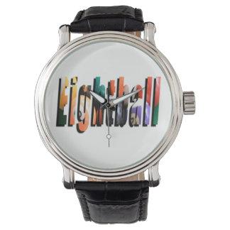 Eightball Maßlogo, Uhr