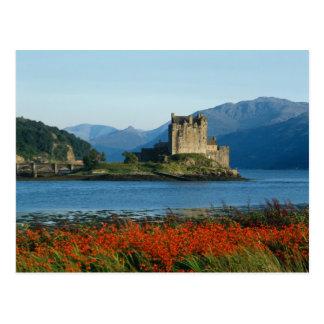 Eilean Donan Schloss, Hochländer, Schottland 3 Postkarte