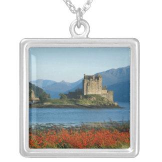 Eilean Donan Schloss, Hochländer, Schottland 3 Versilberte Kette