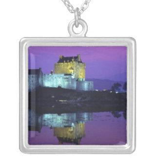 Eilean Donan Schloss, Hochländer, Schottland 4 Versilberte Kette
