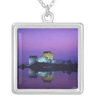 Eilean Donan Schloss, Hochländer, Schottland Versilberte Kette
