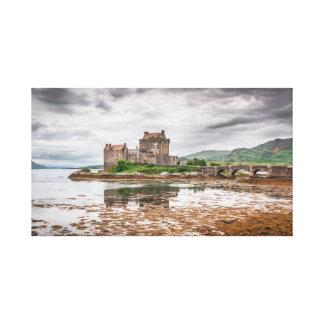 Eilean Donan Schloss Kunst ähnlich Leinwanddruck