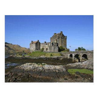 Eilean Donan Schloss, Schottland. Das berühmte Postkarte