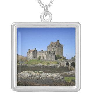 Eilean Donan Schloss, Schottland. Das berühmte Versilberte Kette
