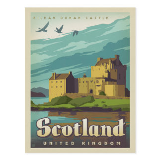Eilean Donan Schloss - Schottland Postkarte
