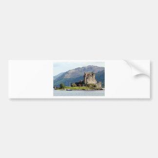 Eilean Donan Schloss, Schottland, Vereinigtes Autoaufkleber