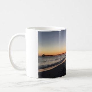 Ein Abend auf dem Strand Kaffeetasse