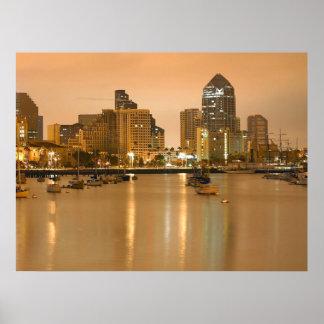 Ein Abend in San Diego Plakat
