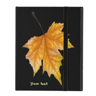 Ein Ahornblatt iPad Etuis