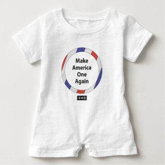 Ein Amerika-rotes weißes und blaues patriotisches Baby Strampler