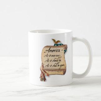 """""""Ein amerikanischer Toast-"""" Kaffeetasse"""