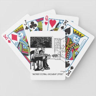 Ein anderes athletisches Stipendium Poker Karten