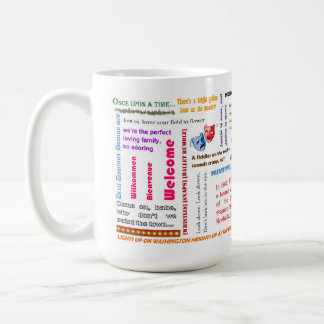 Ein anderes Op'nin anders Show-Kaffee-Tasse Kaffeetasse
