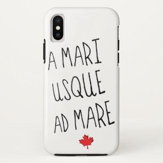 Ein Anzeigen-Stuten-Handy-Fall Mari Usque, iPhone X Hülle