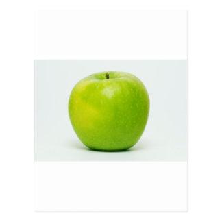 ein Apfel ein Tag behält den Doktor an der Bucht Postkarte