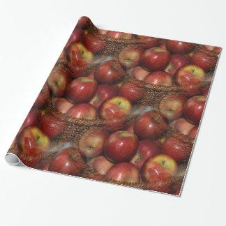 Ein Apfel ein Tag… Geschenkpapier