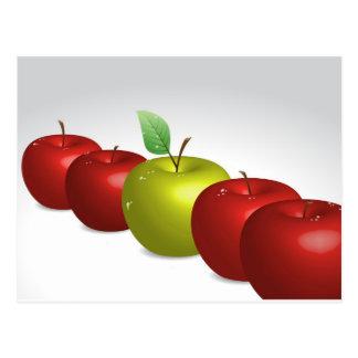 Ein Apfel für jeder Postkarte