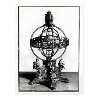 Ein Armillary Bereich des Copernican Systems Postkarte