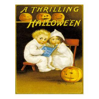 Ein aufregendes Halloween Postkarte