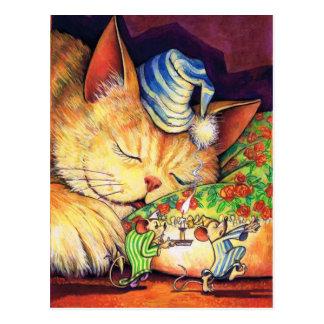Ein Auge offen Postkarte