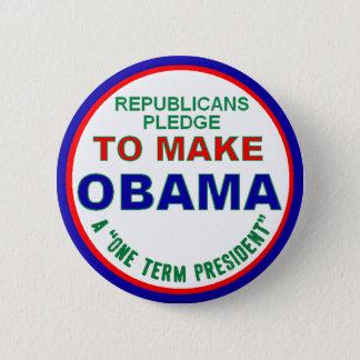 Ein Ausdruck-Präsident Button