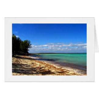 Ein Bahama Moment Karte