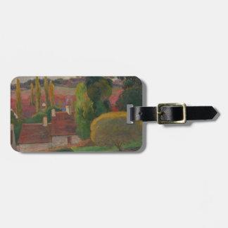 Ein Bauernhof in Bretagne - Paul Gauguin Gepäckanhänger