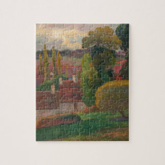 Ein Bauernhof in Bretagne - Paul Gauguin Puzzle