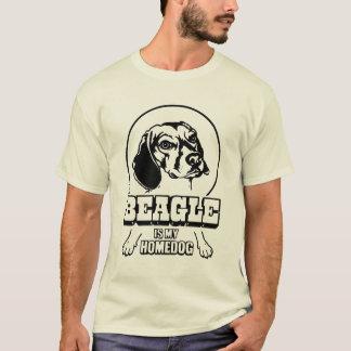 Ein Beagle ist mein Homedog T-Shirt
