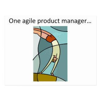 Ein beweglicher Produkt-Manager… Postkarten