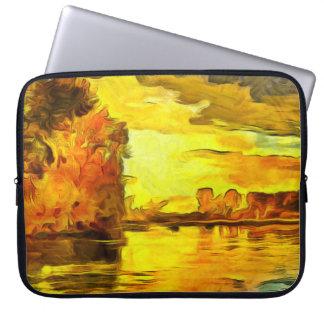 Ein Bild des Herbstes Laptopschutzhülle