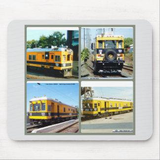 Ein Blick auf den Sperry Eisenbahnwagen Mousepad