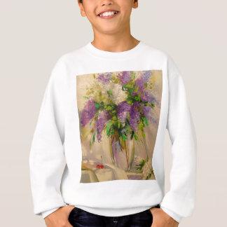 Ein Blumenstrauß der Fliedern Sweatshirt