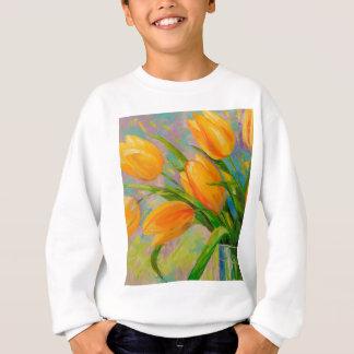 Ein Blumenstrauß der Tulpen Sweatshirt