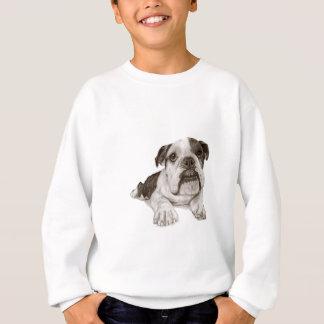 Ein Brindle Bulldoggen-Welpe Sweatshirt