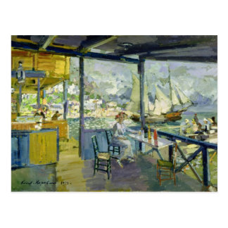 Ein Café in Gursuph, 1914 Postkarte