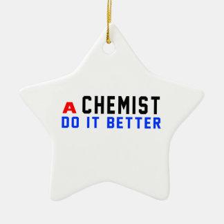 Ein Chemiker verbessert es Weihnachtsbaum Ornament